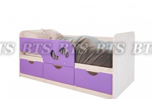 Кровать детская МИНИМА Лего 800х1600/1860