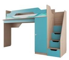 Кровать Детская 2-ярусная СИТИ-1 800х2000