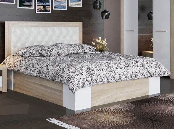 Кровать двойная 1,4х2,0 ЛАГУНА-6