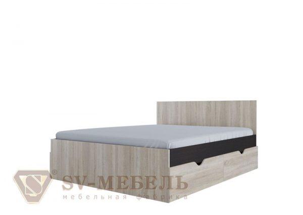 Кровать с ящиками 1,6х2,0м (Спальный гарнитур №1) СВ