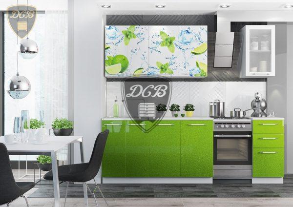 Кухня Лайм 1.8м
