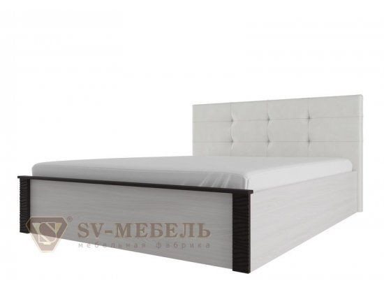 """Кровать двойная с мягким изголовьем 1,6х2,0м """"Гамма-20"""""""