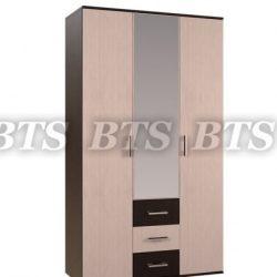 Гостиная Белла Шкаф 3-х створчатый (БТС)