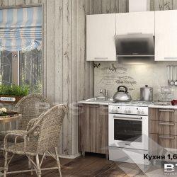 Кухня Катя 1,6 м (БТС)