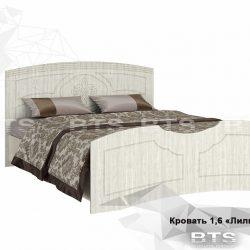 Спальня Лилия Кровать 1600х2000 (БТС)