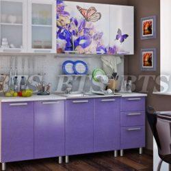 Кухня Люкс Ирис 2,0 м (БТС)