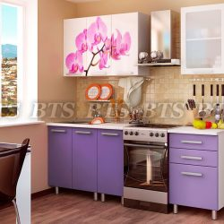 Кухня Орхидея 1,6 м (БТС)