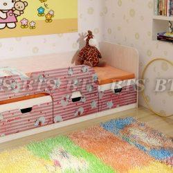 Детская кровать Минима (Кити. Лего) (БТС)