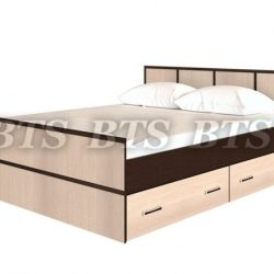 Спальня Сакура Кровать 1600х2000 (БТС)