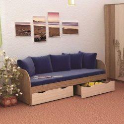 Кровать ГОРОД с ящиками
