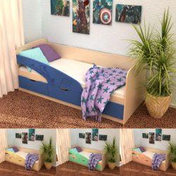 Кровать ДЕЛЬФИН 800х1800 (Инт)