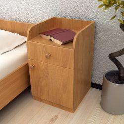 Тумба прикроватная с дверью и ящиком (Инт)