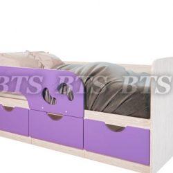 Кровать детская МИНИМА Лего 800х1600/1860 (БТС)