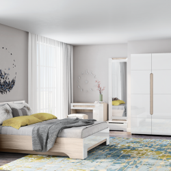 Модульная Спальня ПАЛЕРМО-3 (Стиль)