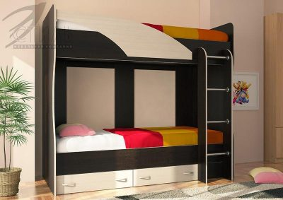 Кровать Детская 2-ярусная МИЙА (Стиль)