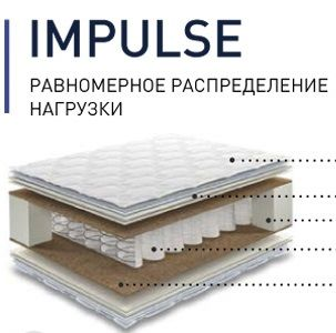 Матрас КДМ Comfort IMPULSE
