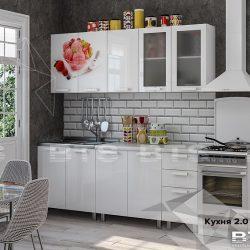 Кухня 2,0м Айскрим (БТС)