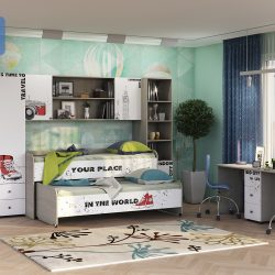 Мебель для детской «Мийа - 3А» (Стиль)