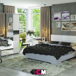 Модульная спальня Сальма МДФ (Ст)