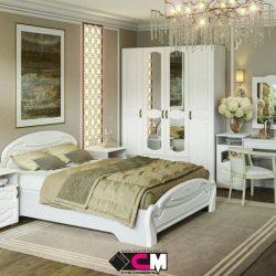 Модульная спальня Медина МДФ (Ст)