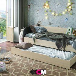 Кровать Балли двухместная (Ст)