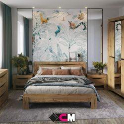 Модульная спальня Паола (Ст)