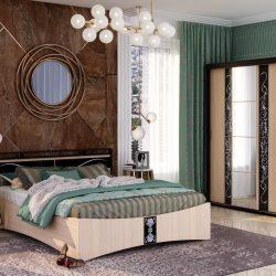 Кровать ВЕГА КР-01 (стиль)
